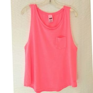 3/$20 PINK Victoria's Secret Pocket Tank